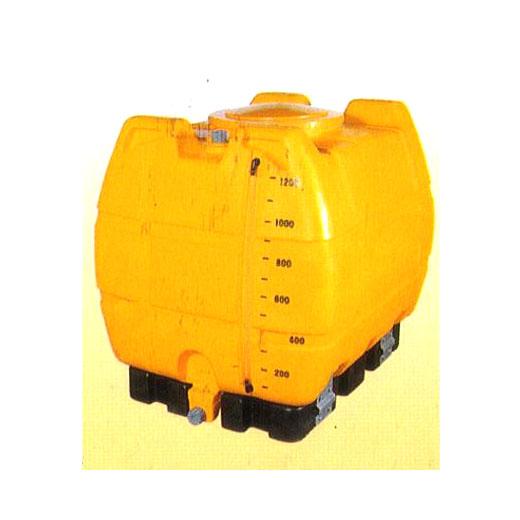ゴードー スッキリタンク 台付完全排水 ローリータンク ST-1200 1200L 合同産業 (法人届けor営業所引取り)