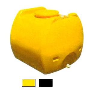 モリマーサム樹脂工業 ローリータンク SL-600 色選択 黄色/黒色 600L
