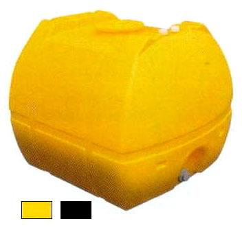 モリマーサム樹脂工業 ローリータンク SL-2000 色選択 黄色/黒色 2000L