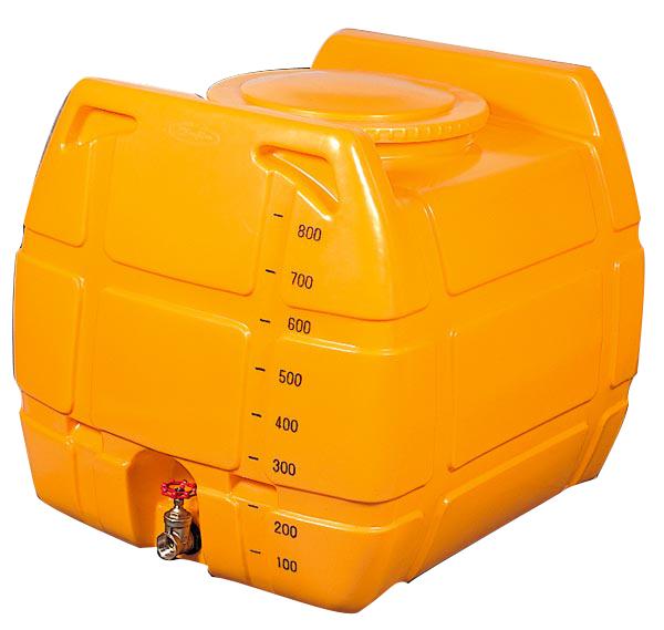 (1-1/2インチバルブ付)ローリータンク G-NL-800 ドレン付、エア抜き付 [防除 防災 貯水タンク](法人届けor営業所で引取り)