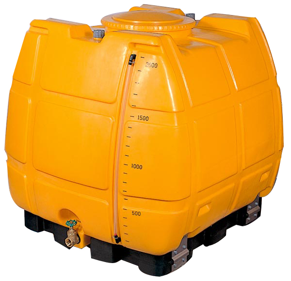 スッキリタンク 台付完全排水 ローリータンク ST-2000 2000L 40Aバルブ付き (法人届けor営業所引取り)