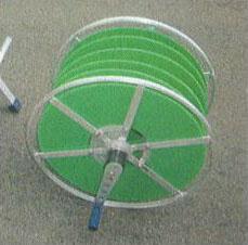 ハラックス 潅太郎 KM-500用オプションドラム KM-W28 (法人個人選択) [アルミ製 灌水ホース巻取機]