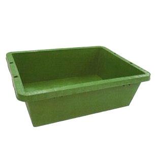 日本製 AZ プラ箱 ネリ箱 角型容器 40型 10個セット 安全興業 455×600×190mmH法人/個人選択 【セメント 砂 かき混ぜ ペットのシャワー】