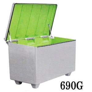 ジャンボ収納ボックス 690G FRP製大型容器600L