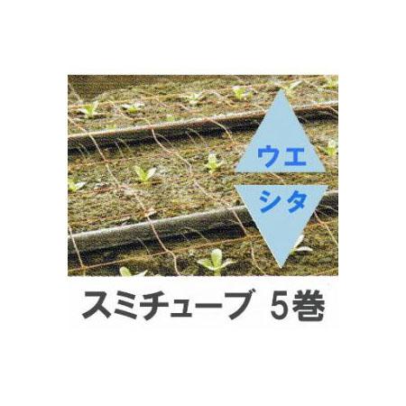 灌水チューブ スミチューブ ウエシタ 200m×5巻セット 住化農業資材