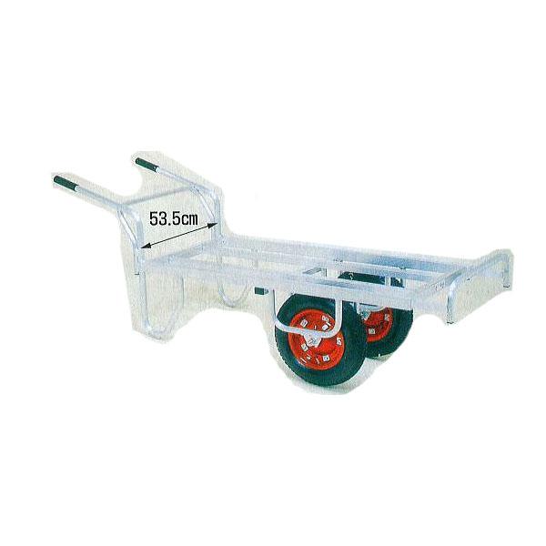 ハラックス コン助 CN-65DW エアータイヤ (TR-13×3T) アルミ製 平型二輪車 (1輪車に付け替え可能タイプ) (法人個人選択)