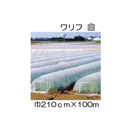 JX ANCI 日石 ワリフ HS-2100 白 210cm×長さ100m 遮光率5% 不織布[防虫 保温 簡単設置 遮光 防雨]