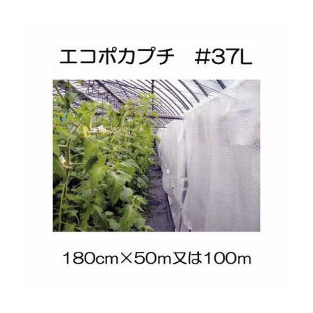 ハウス保温内張り材 エコポカプチ #37L 幅180cm 長さ50mを2巻または100mを1巻選択