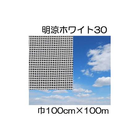 JX ANCI ワリフ 明涼30W 100cm×長さ100m 遮光率30% 不織布 日新商事