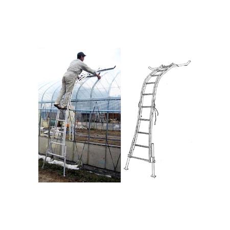 ビニールハウス専用梯子 ミツル セレクトフィットSF-500