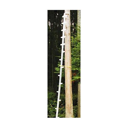 お気にいる (法人個人選択):瀧商店  梯子] 枝打はしご WR-45 アルミ製 ハラックス ワンダ 全長455cm [枝打ち-DIY・工具