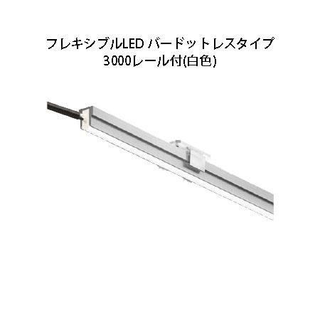 デコレーションライト 12VフレキシブルLED バードットレスタイプ 3000レール付(HAC-W35T 79839100 白色)[タカショー エクステリア 庭造り DIY]