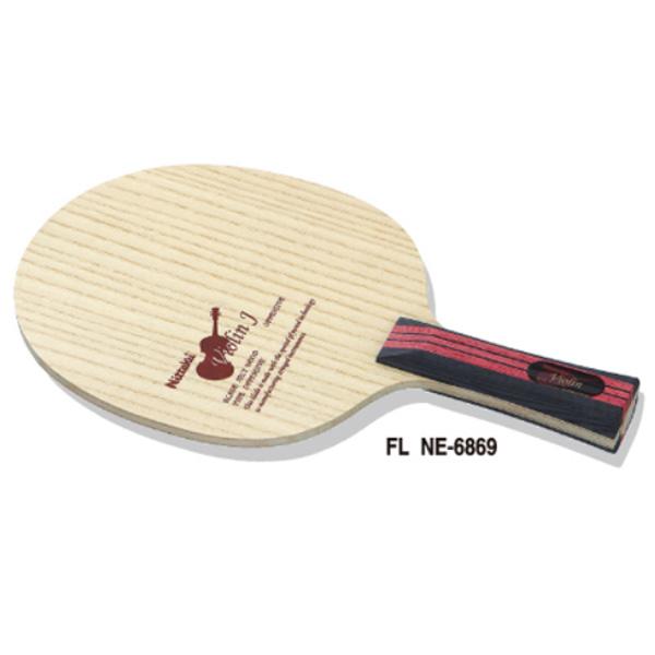 Nittaku ニッタク adb0230fl バイオリン J NE-6869(FL)卓球 ラケット 初心者 中級者 上級者 卓球ラケット 練習