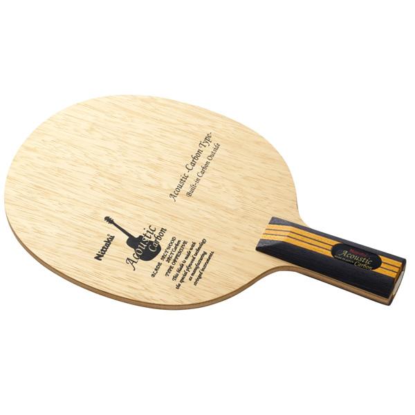 Nittaku ニッタク adb0354a アコースティックカーボン C 卓球 ラケット 初心者 中級者 上級者 卓球ラケット 練習