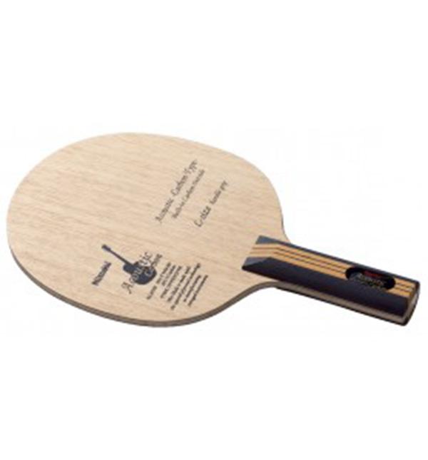 Nittaku ニッタク adb0305 アコースティックカーボン(LGタイプ) 卓球 ラケット 初心者 中級者 上級者 卓球ラケット 練習