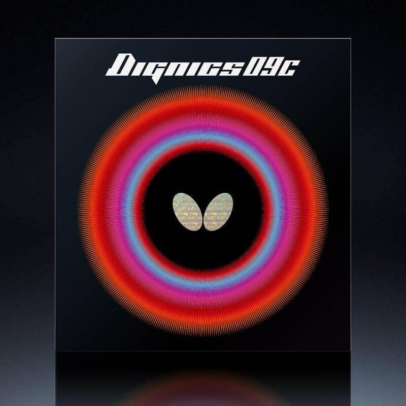 卓球 ラバー 初心者 気質アップ 中級者 上級者 大放出セール 卓球ラバー バタフライ aaa0270 ネコポス便送料無料 ディグニクス09C Butterfly
