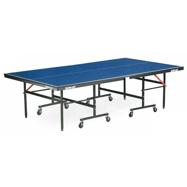 卓球台 国際規格 家庭用 テーブルテニス SAN-EI 三英 sat0017 IS220 (ブルー) (18-956) (脚部組立式)