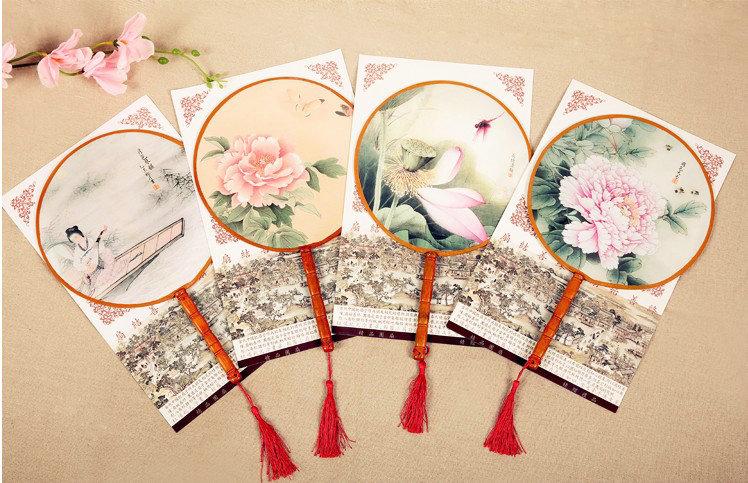 古典丸形団扇 卓越 割引も実施中 踊り扇子団扇 うちわ 中国伝統柄古典宮 扇子