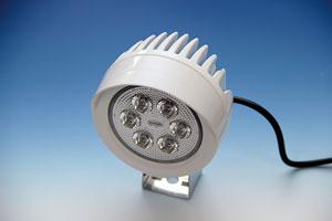 LEDスーパーブライト作業灯(2.5Wx6LED)丸型