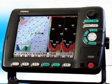 FUSO 10.4型GPS&デジタル魚探 FE-10F-HG(1kw仕様)newpec地図搭載