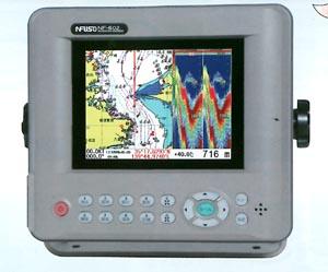 FUSO 5.6型GPS&魚探 NF-602α(600w仕様)