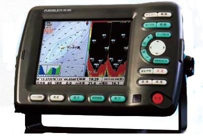 FUSO 8型GPS&デジタル魚探 FE-8F-HG(1kw高精細仕様)newpec地図搭載