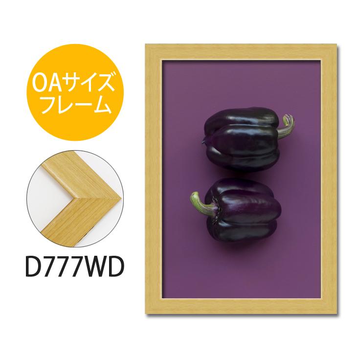 ポスターフレーム OAサイズ 額縁【A-d777wd】B2・OAサイズ ディスプレイ インテリア 室内装飾