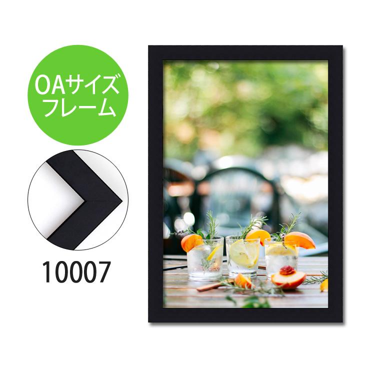 ポスターフレーム OAサイズ 額縁【B-10007】B4・OAサイズ ディスプレイ インテリア 室内装飾
