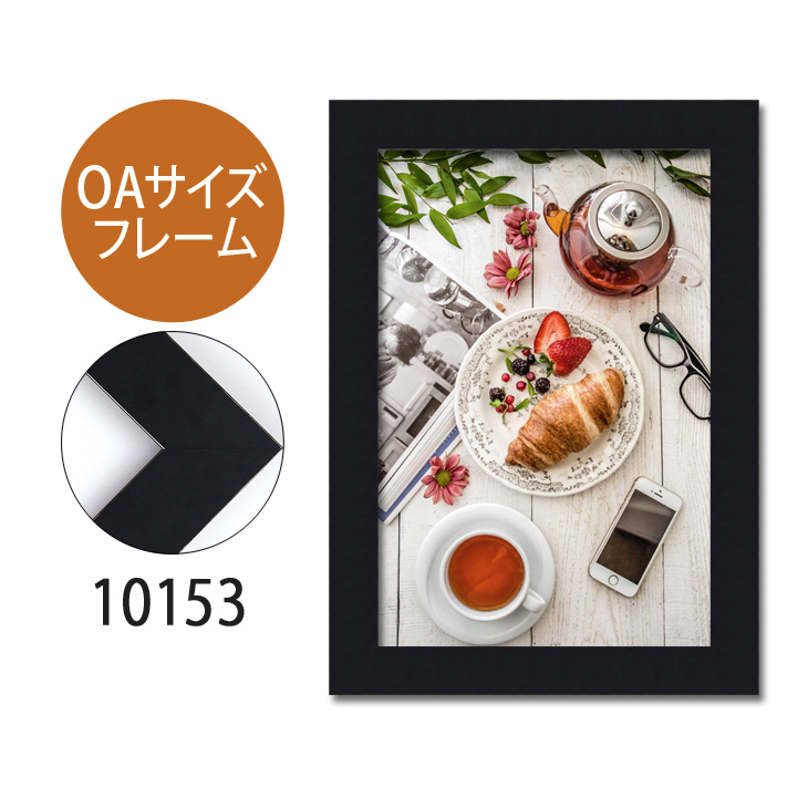 ポスターフレーム OAサイズ 額縁【B-10153】B4・OAサイズ ディスプレイ インテリア 室内装飾