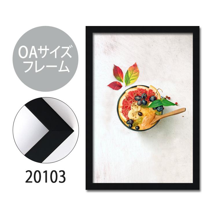 ポスターフレーム OAサイズ 額縁【C-20103】A4・OAサイズ ディスプレイ インテリア 室内装飾