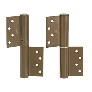デンセイ オートヒンジ1221FR 日東工器商品コード 06342製品番号 TH09343表面色 ブロンズ材質 アルミニウム