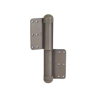 デンセイ オートヒンジ240R-T-B-PC 日東工器商品コード 18110製品番号 TH01439右開き 空丁番(クローザ機能なし)表面色 ブロンズ 材質 鋼板