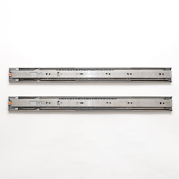 LAMP スガツネ工業ステンレス鋼製スライドレール ESR4670セルフ&ソフトクロージング機構付品番 ESR4670-24注文コード 190-033-970レール長さ 600耐荷重kgf/ペア 353段引 ステンレス鋼(SUS304)1セット2本入