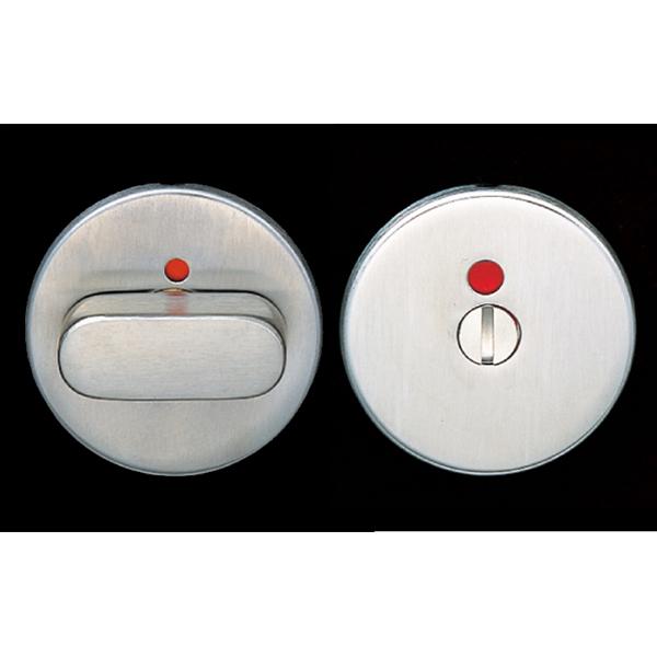 d lineシリーズのレバーハンドル用にデザインした、モーティス・ケースロック 14-9213-02-600 用のサムターンと表示器のセットです。 LAMP スガツネ工業d line サムターン+表示器 14-3478型、14-3475型品番 14-3475-02-309注文コード 260-069-279材料 ステンレス鋼(SUS316)仕上 へアライン仕上対応レバーハンドル d line