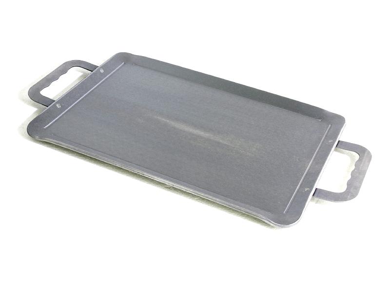 【当店おすすめ】鍛冶屋シリーズ 調理用厚板鉄板!!『鍛冶屋の鉄板』ロング 110-4