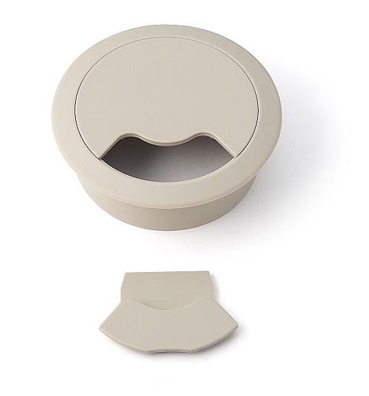 コードを通す部品蓋付きタイプ LAMP スガツネ 工業 開店祝い ダークベージュ 配線孔キャップ 丸型V60DBE 人気ブレゼント!