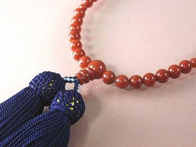 赤珊瑚数珠 送料無料 誕生石 珊瑚 三月 さんご サンゴ 母の日 coral 赤珊瑚 本珊瑚 還暦祝 35周年 安産 お守り プレゼント 贈り物