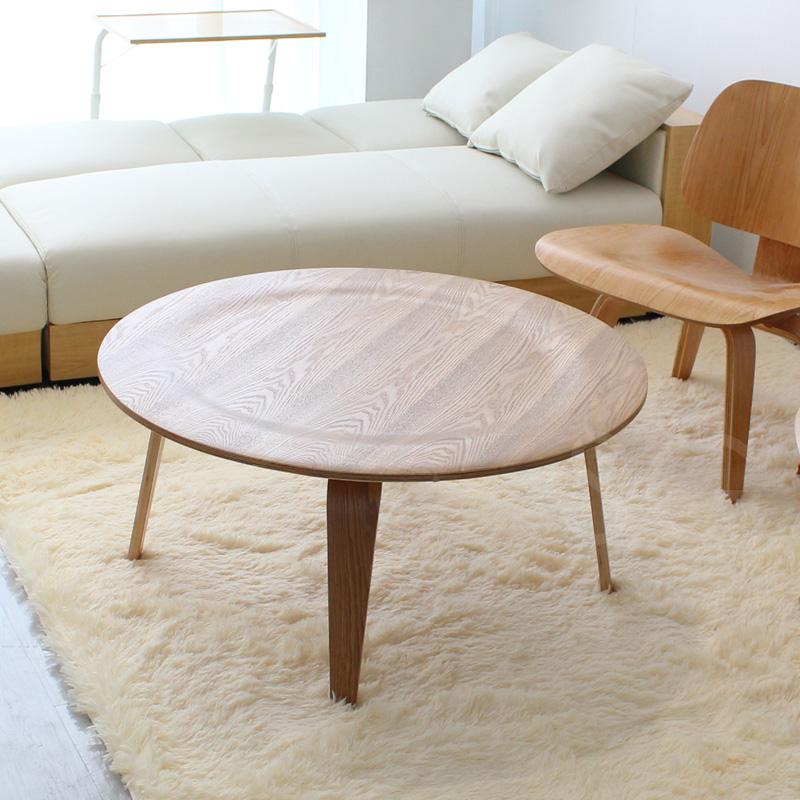Storage Coffee Table Singapore: Takumisofa: EAMES/ Eames Plywood Cocktail Table Circle
