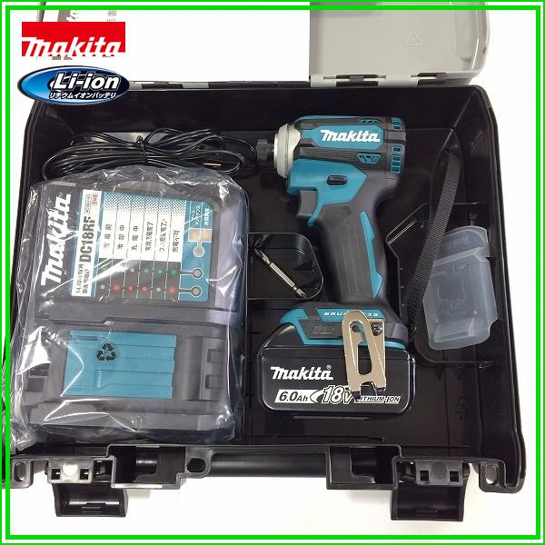 ■マキタ 18V 6.0Ah インパクトドライバー TD171DRGX--B1 (青) ★電池1個仕様! 新品