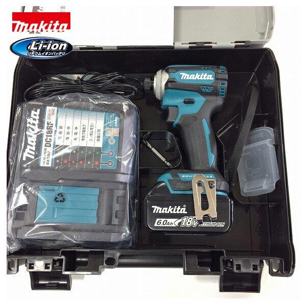 ■マキタ 18V 6.0Ah インパクトドライバー TD171DRGX--B1 (青) ★電池1個仕様 新品