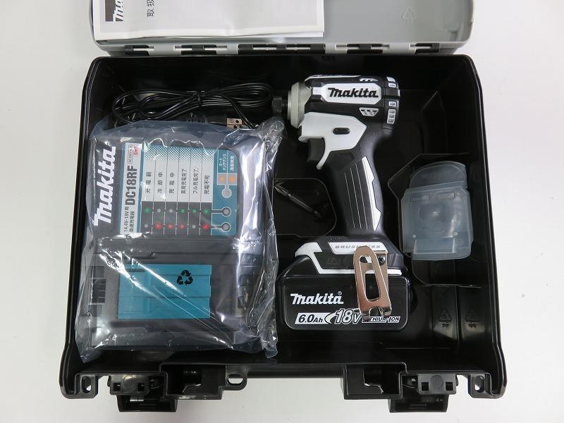 ☆送料無料☆ makita■マキタ 18V 6.0Ah インパクトドライバー TD171DRGXW--B1 (白) ★電池1個仕様! 新品