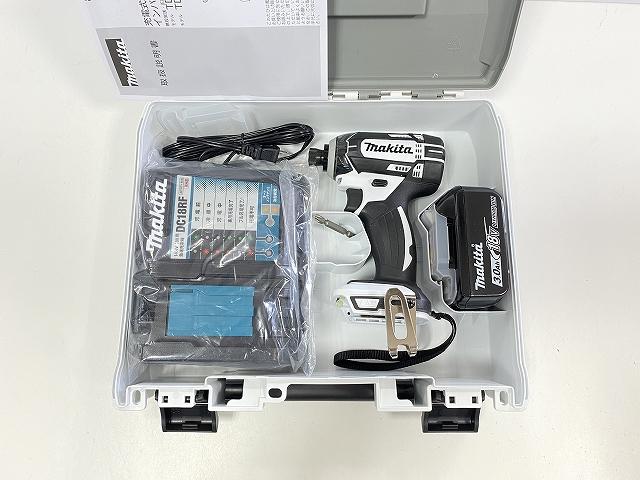 ■マキタ 18V インパクトドライバー TD149DRFXW--B1 白 ★電池1個仕様