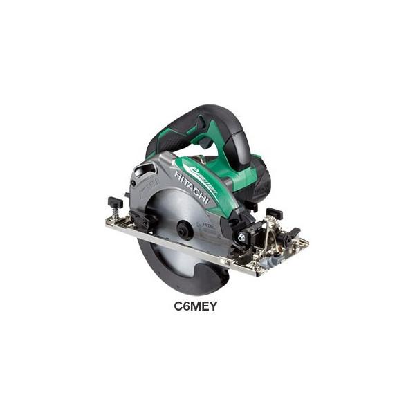 HiKOKI ■日立 深切り電子丸のこ C6MEY(S) 緑 ★ LEDライト・チップソー付