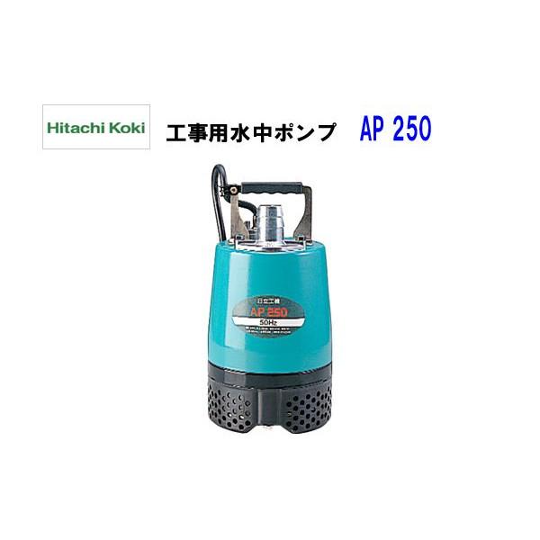 HiKOKI■日立 工事用水中ポンプ AP250 ★50Hz