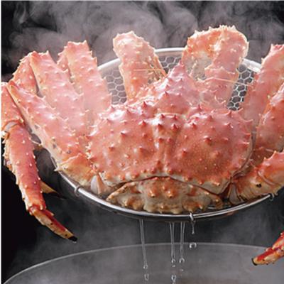 ボイル本たらば蟹オス〈姿〉2.4kgをボイル(茹であがり約1.9kg前後)1尾送料無料【楽ギフ_のし】【冷凍カニ】【お買い得】【ギフト】