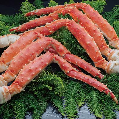 限定販売 在庫一掃売り切りセール 蟹の王様 ボイルタラバガニ脚800g×2 ご予約品 合計1.6kg