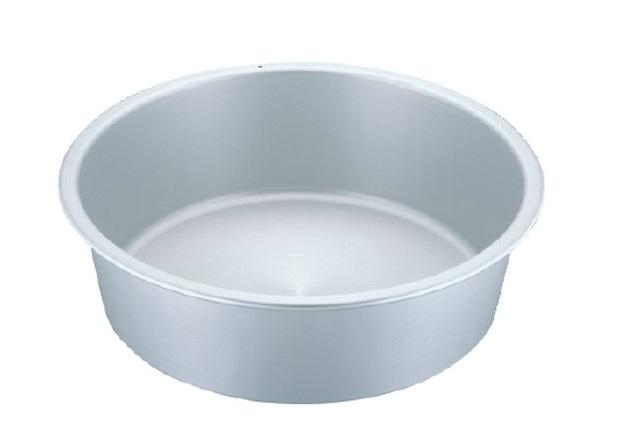 ◇高嶋金物店◇アルミタライ60cm アカオアルミ(アルマイト・シルバー・硬質アルミ・たらい・洗い桶・洗桶)