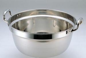 ◇高嶋金物店◇SW18-8料理鍋両手48cm