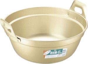◇高嶋金物店◇アカオ 純しゅう酸段付鍋 51cm(※1.2mm厚)
