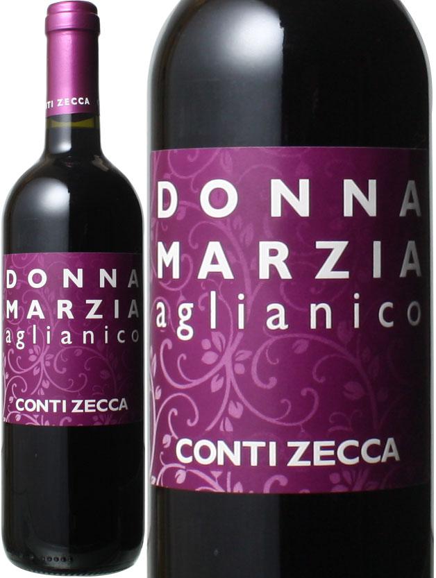 ドンナ マルツィア 即日出荷 アリアニコ 2019 コンティ お中元 赤 ワイン イタリア ゼッカ